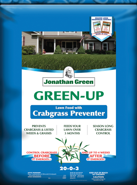 Green-Up Lawn Food with Crabgrass Preventer 21-0-3