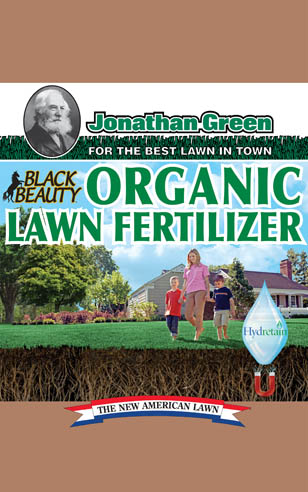Black Beauty Organic Lawn Fertilizer with Hydretain® 8-0-3