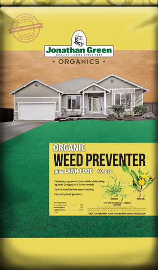 Organic Weed Preventer plus Lawn Food