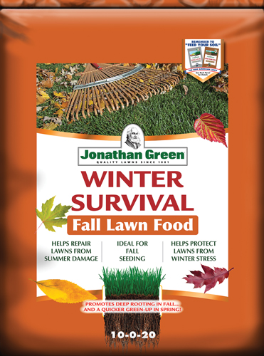 Winter Survival Fall Lawn Food 10-0-20