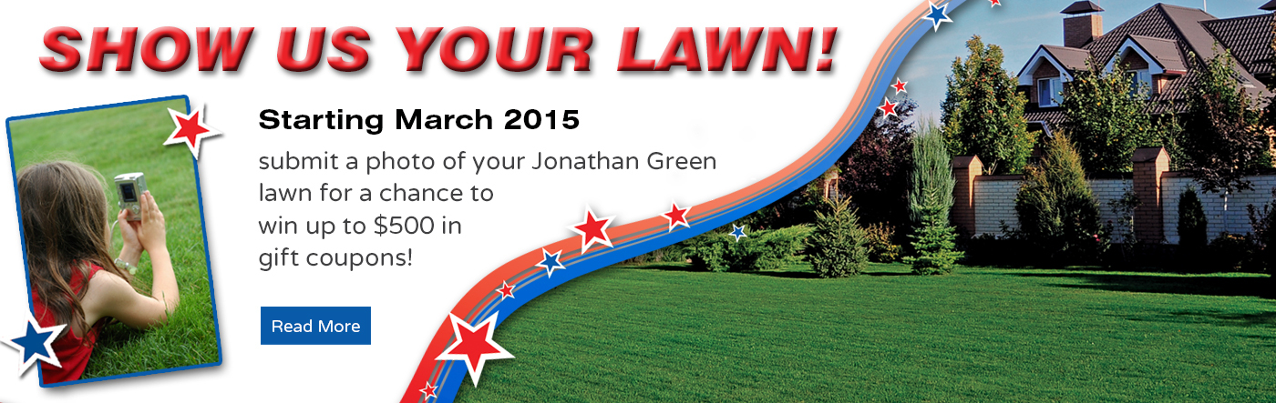 Show Us Your Lawn & Win