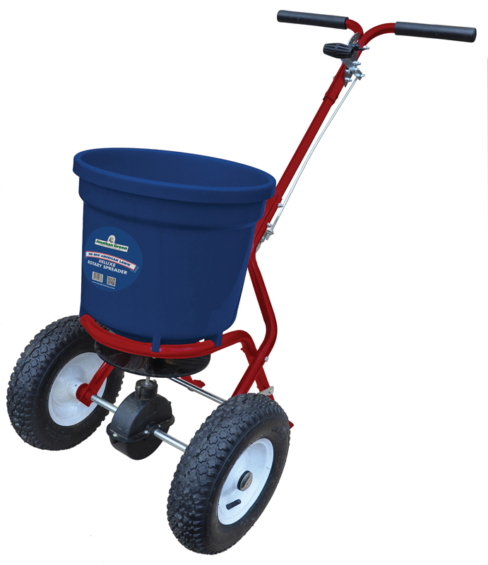 New American Lawn Deluxe Rotary Spreader