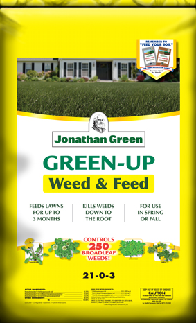 Green-Up Weed & Feed Lawn Food 21-0-3