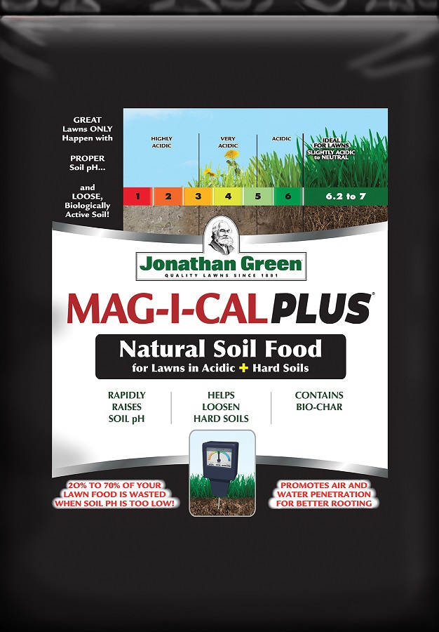 MAG-I-CAL Plus® for Lawns in Acidic + Hard Soil