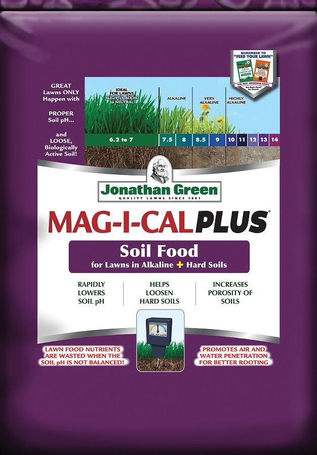 MAG-I-CAL Plus® for Lawns in Alkaline + Hard Soil