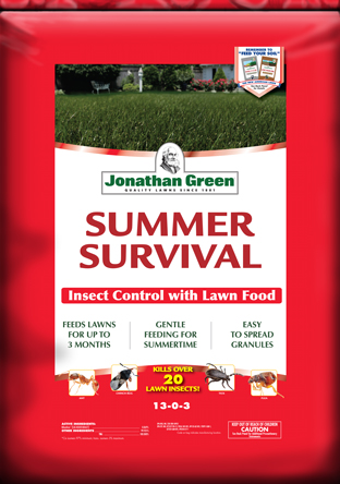 Summer Survival Insect Control with Lawn Food 13-0-3