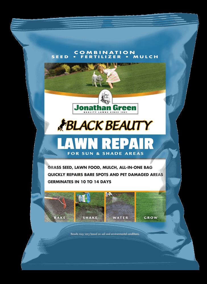 Front_of_Black_Beauty_Lawn_Repair_Bag